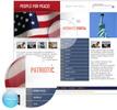 Thumbnail patriotic portal template