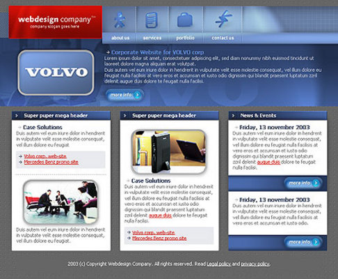 Product picture New Web template Volovo