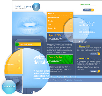 Product picture New Dental Clinic Website Template